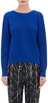 Proenza Schouler Women's Cashmere-Blend Cardigan Sweater-Blue