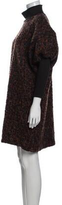 Anna Sui Printed Mini Dress Black