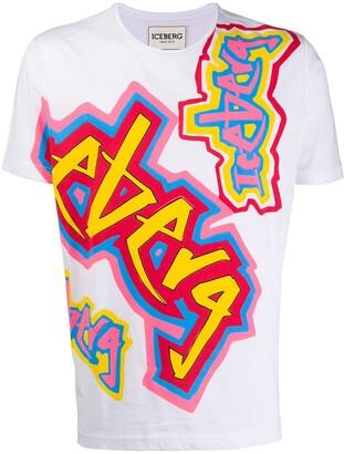 Iceberg Con Stampa T-shirt