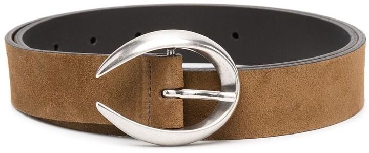 Dondup Reversible Buckled Leather Belt