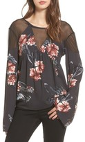 Somedays Lovin Women's Homecoming Floral Blouse
