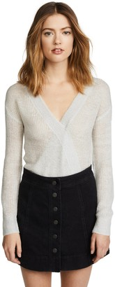 Cupcakes And Cashmere Women's Sternberg Wrap Sweater