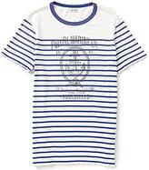 Polo Ralph Lauren Horizontal Striped Nautical Graphic Tee