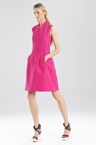 Josie Natori Resort Texture Sleeveless Dress