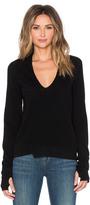 Inhabit Thumbhole Stretch V-Neck Sweater