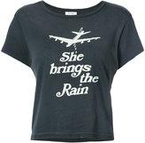RE/DONE she brings the rain print T-shirt - women - Cotton - XS
