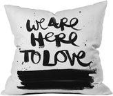 DENY Designs Kal Barteski We are Here Throw Pillow