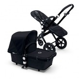 Bugaboo CAMELEONé Black Frame Complete Pushchair, Black Base