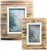 Lawrence Frames Weathered Picket Fence Picture Frame in Natural