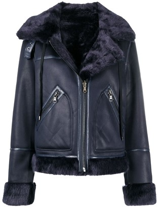 Urban Code Faux-Fur Lined Hooded Jacket