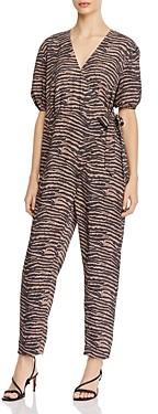 Joie Prisha Printed Wrap-Front Jumpsuit