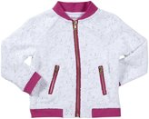 Design History Top Length Jacket (Toddler/Kids) - White/Peony-4T