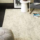 west elm Vines Wool Rug - Neutral