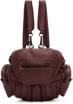 Alexander Wang Burgundy Mini Marti Backpack