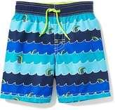 Old Navy Wave-Print Swim Trunks for Toddler Boys