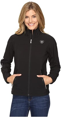 Ariat New Team Softshell (Black) Women's Clothing