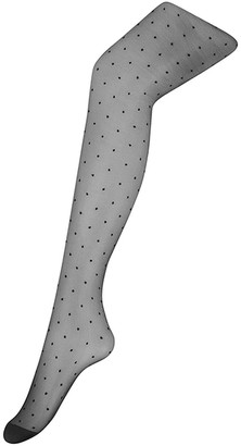 Monsoon Polka-Dot Sheer Tights