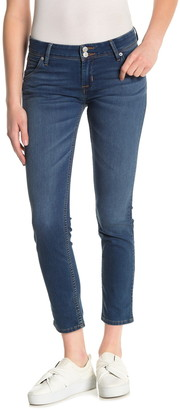 Hudson Collin Flap Cropped Skinny Jeans