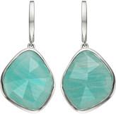 Monica Vinader Siren sterling silver amazonite nugget earrings