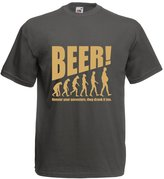 lepni.me N4534 T-shirt male The Beervolution