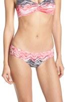 Becca Women's 'Cosmic' Cutout Bikini Bottoms