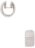 Rina Limor Fine Jewelry 18K White Gold & 3.56 Total Ct. Diamond Hoop Earrings