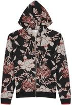 Mcq Alexander Mcqueen Floral-print Cotton Sweatshirt