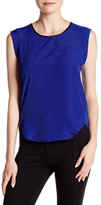 Joe Fresh Pocket Cap Sleeve Blouse