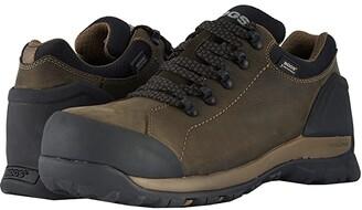 Bogs Foundation Leather Low Comp Toe (Brown) Men's Rain Boots