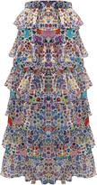 Mochi M'O Exclusive Petra Maxi Ruffle Skirt