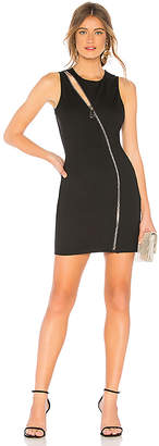 by the way. Leslie Zip Front Mini Dress