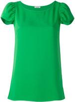 P.A.R.O.S.H. cap sleeve T-shirt - women - Polyester - XS