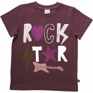 Green Cotton Fred's World by Girl's Star Rock S/s T T-Shirt