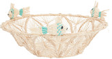 Mercedes Salazar Blue Fish Bread Basket
