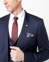 Ted Baker Debonair Wool Suit Jacket Dark Blue