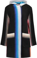 Missoni Striped Wool Hooded Coat