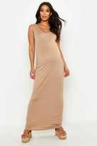 boohoo Maternity Scoop Neck Maxi Dress