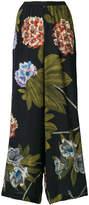 Antonio Marras floral print palazzo pants