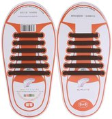 Generic Kids No Tie Elastic Silicone Shoelaces