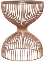 Pols Potten Wire Dumbbell Stool - Copper