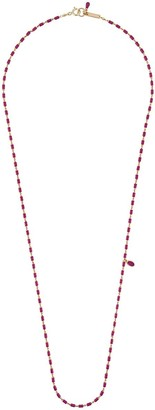 Isabel Marant Long Fine Bead Necklace