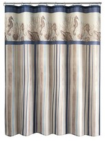 Nobrand No Brand Folly Beach Stripe Shower Curtain