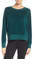 Zella Women's Velour Pullover