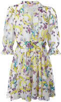 Giamba banana print mini dress - women - Polyester - 42