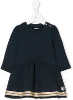 Diesel long-sleeved flared dress