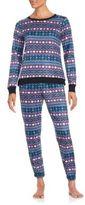 Kensie Stitch Pattern Pullover & Pants Set