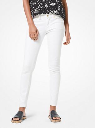 MICHAEL Michael Kors MK Selma Skinny Jeans - White - Michael Kors