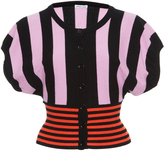 Tomas Maier Striped Cashmere Cardigan