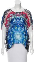 Clover Canyon Printed Cold-Shoulder Sleeves