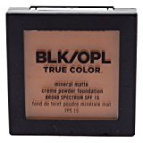Black Opal True Color Mineral Matte Creme Powder Amber (7.4g) (2 Pack)